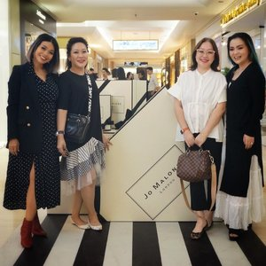 Still from #HelloJML with these beautiful ladies @jennalani @mrsrance @sh_cool 💞💕💞💕 We have so much fun  Grand launching @jomalonelondon #indonesia @plaza_indonesia level 1. #jomalonelondonid  #jomaloneindonesia  #jomaloneid  #jomalonejakarta • • • #beautyaddict #beautylover #beautyjunkie #beautynews #beautyhaul #makeup #makeuplover #makeupaddict #makeupjunkie #jomalone #havingfun #ladiesnightout #ladiesnight #blackandwhite #monochrome #clozette #clozetteid #plazaindonesia #happytime #makeuphaul