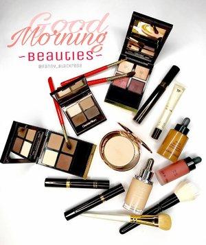 "It's a lovely #Morning here... Celebrating my twin birthday today 🎉  Gonna paint my face a ""little"" . Maybe I'll use this products 😊 maybe... #TomFord  #TomfordStyle  #Dior  #charlottetilbury  #diorbeauty  #giorgioarmani  #armanibeauty  #armani #waynegoss  #chikuhodo  #makeupbrush  #beautylish  #makeup  #makeuptalk #makeuppost #clozette  #clozetteid  #beauty #instabeauty  #wakeupandmakeup  #makeupflatlay  #luxurybeauty  #hakuhodo"
