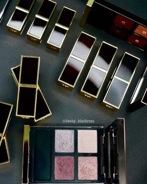 #TomfordTuesday ❤️✨ Every season I am very excited to see what #myfave #Tomford brand gonna launching. Most of the time I am happy to complete my #makeupcolletion  Only few products I keep thinking, should I shouldn't I... This season, with their single shadows , I keep thinking 🤔 💭 and waiting for review... which one should I collect ? Is it really worth to bring along at my #makeuppouch ?  I am waiting for your review my #beauties 😘💋✨ Give me some clue, what should I collect from the single shadows... No chance to swatch it in person yet ... 😊 so I am waiting 🍷✨ #makeup #makeuppost #makeuptalk #makeupporn #tomfordlipstick #tomfordeyeshadow #tomfordaddict #idontpopmollyirocktomford #bblog #beautyblogger #beautylover #clozette #clozetteid #beautyblog #beautypost #beautiful #gold #black #luxurybeauty