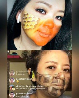 🐝 🐝 🐝  #instagramlive  #igmakeup 🐝 🐝 🐝  With @makeupbyikadamajanti 🐝 🐝 🐝 #makeup #makeuppost #clozette #clozetteid #makeuptalk #makeupartist #havingfun #workingmomlife #makeupideas #makeupartistry #makeuplife #makeuplover #beautyaddict #livingthebestlife #friendship #thankful #blessed #grateful