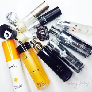 #BestSkincare2016 for me! I will collab with beautiful blogger on my  #youtube #beautyyoutuber talking about our best #skincare ☝️️😊 there's long journey but when you find the rite one, it is #lifetime #investment 💕✨ #babor #tomford #skII #cledepeau #cledepeaubeaute #suissereborn #suisse #sisley #amorepacific #beautyblogger #bblogger #youtuber #makeup #clarins #makeupaddict #skincareaddict #clozetteid #clozette