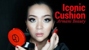 It's up on my #Youtube Channel now ❤️✨ New Year New Video 💋 #armani #armanibeauty #armanicushion #armaniredcushion #iconiccushion #armaniiconiccushion #beautyvlogger #beautyblogger #luxurybeauty #clozette #clozetteid #sbybeautyblogger #makeupvideo #makeupreview #bblog #makeup #makeuppost #makeuptalk #bblogger