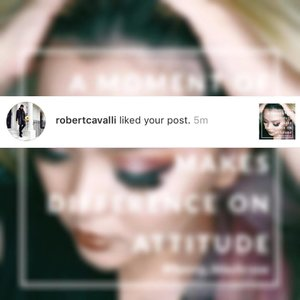 This is how amazing of @instagram #instagram #socialmedia nowdays ❤✨ Thank you so much @robertcavalli for stopping by and sharing some loves to my pic.  #fanmoment 😊✨ #instabeauty  #instamoment  #instamoments  #robertcavalli  #fashiondesigner  #fashion  #bblog  #bblogger  #gratefulheartattractsmoreblessing #gratefulheart  #grateful  #thankful  #clozette  #clozetteid  #thebeautyoflife