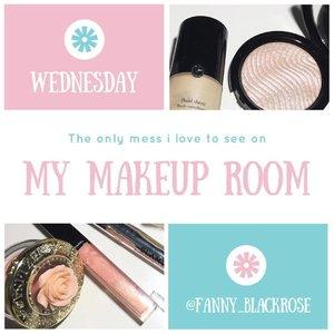 #makeuproom #makeuptalk #makeupaddict #clozette #clozetteid #makeupforever #makeuplookbook #bblog #bblogger #wakeupandmakeup #makeuplover #makeuptalk #motd #pink #mint #white