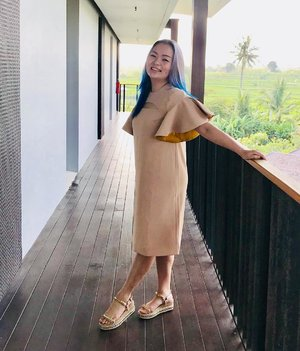 💛🧡 #EnjoyingLife 🧡💛 . . . Wearing the #peggyhartanto collection 💛🧡💛🧡 Thank you @makealittlemagic . . . #fashionpost #fashiondesignerindonesia #lookbooklookbook #lookbookindonesia #mystyle #mycomfystyle #summer #yellow #canary #colour #colourpop #louboutin #louboutinworld #preciousmoments #livingfab #clozette #clozetteid #mylookbook #idontplaniplay #manicpanic #bali #balilife #tropical #summertime #summerstyle
