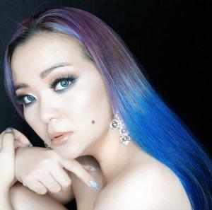 #BreakTheRules 💙 💜 💙 💜 ✨ . . . #makeuptalk #moment #makeupartistlife #makeuppost #writemyownstory #iseeyou #blue #bluehair #manicpanic #manicpanic #purplehair #mindyourbusiness #wakeupandmakeup #tooblessedtoobestressed #clozette #clozetteid #makeupartist #bblog #beautyblogger