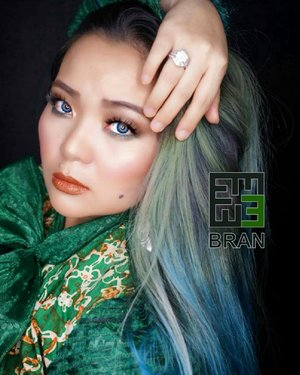 ♥� Don't take life too seriously, No one get out of it alive ♥� • • • • • Mystical of Jade  By @embrannawawi • • • • • #makeup #makeuppost #jade #mystic #asian #beautyinfluencer #fashionconcept #beautygram #makeupartist #mua #makeup #greenhair #bluehair #clozetteid #clozette #fashiondesigner #photography #lookbook #lookbooklookbook