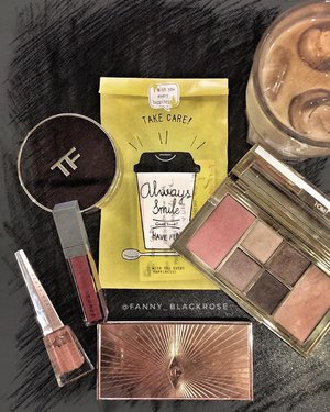 My #coffeestory or my #makeupstory ? 😊 Both has amazing journeys 😊 #makeuptalk #coffee #morningcoffee #makeuppost #love #friendship #tomford #tomfordaddict #tomfordlifestyle #ctilburymakeup #solarpower #fentybeauty #unbuttoned #threecosmetics #threecosmeticsmy #lipstick #redlipstick #skincareinfusedmakeup #tomfordcushion #smokeyeye #luxurybeauty #clozette #clozetteid #wakeupandmakeup