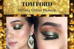 I do record this #glittery #makeuplook with #Tomford #urbandecay #glitter #viseart if you interest to see the process with #sparkling glitter all around , link on my bio or here: 🎥https://youtu.be/Pnq1f-DvmGo ✨✨✨✨✨✨✨✨ #happyholiday everyone ✨✨✨✨✨✨✨✨ #makeup #makeuppost #clozetteID #makeupvideo #beautyyoutuber #youtuber #asian #makeaddict #beautyblogger #makeupart #makeupartist #makeupjunkie #makeuplover #lamer #wardah
