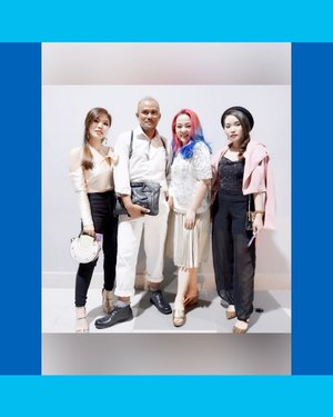 Having fun DAY 2 with my beautiful peoples 😊💖✨ #fashionconceptor @embrannawawi  #embrannawawi 💖✨ #fashionblogger and #fashiondesigner @chelsheaflo 💖✨ And her gorgeous #florist and #decorator @gracefeilie 💖✨ . . . #surabayafashionparade #surabayafashionparade2018 #sfp2018 #surabaya #fashion #fashionevent #lovefashion #lifestyle #clozette #clozetteid #makeupartist #beautyinfluencer #beautylover #beautyaddict #beautygram #beautyaddict #makeupjunkie #makeuplover #wakeupandmakeup #havefun
