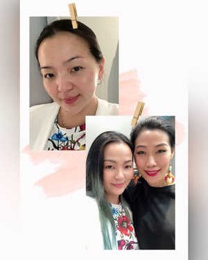 Only for certain ppl I will go out the door totally bare face 😆 • • • Always have a good time with @careenaxiling • • • • • #friend #instafriends #friendship #threecosmeticsmy #threecosmetics #workshop #japan #japanskincare #skincareblogger #skincarelover #skincareaddict #makeupartist #makeuplover #makeupaddict #beautygram #clozette #clozetteid #makeuptalk #makeupevent