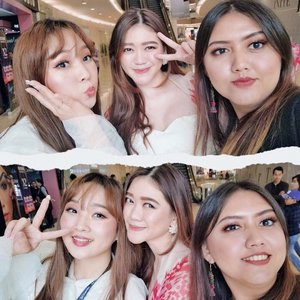 Bump into these beautiful ladies on the previous #X2BeautyRush Blogger and Influencer Gathering �� Loving our sparkle eyes effect thanks to the brand new #X2Stardust that have galaxy motives & design! It have 5 different pattern and looks really pretty in real life🎖 Thank you @x2softlens & @lakmemakeup . . . . . . #coloredcanvasdotcom #beauty #skincare #makeup #beautyjunkie #beautybloggerindonesia #bloggerevent #jakartabeautyblogger #clozetteid #beautyenthusiast #beautyinfluencer #lakmemakeup #neverboring #indonesiabeautyblogger #beautygram #얼짱 #�� #��리룩 #셀스타그램 #셀카 #�스타패션 #패션스타그램 #오오티디 #패션