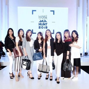 Who's exicted for @jfwofficial 2019? 🙋🏻♀️ Earlier today me and @beautybloggerindonesia babes was invited and witnessed the 8 winner of @makeoverid MUA Hunt 2018. Without no doubt, all of them are really talented and truly deserved the title, congratulations! 💯✨ Anyway, it's only 2 day left until #JFW2019 come to end, so I'm gonna come & stop by again tomorrow, see ya in there! . . . . . #BBIxMAKEOVER #beautybloggerindonesia #BBIJFW2019 #MAKEOVERMUAHUNT2018 #jakartafashionweek #indonesiabeautyblogger #ootdmagazine #ootd #ulzzang #fashiongram #wiwt #beautyinfluencer #stylediaries  #clozetteid #fashionpeople #fashionvibes #얼짱 #일상 #데일리룩 #셀스타그램 #셀카 #인스타패션 #패션스타그램 #오오티디 #패션 #데일리