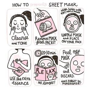 Sheet mask guide ❤ Do you love sheetmasking?