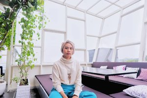 When I know, travel is one of best choice for rest my day...#clozette #clozetteid #fashion #FashionFreedom #hijablook #fashionblogger #blogger #style #hijabfashion #hijabdaily #hope #life #photogram #fashionoftheday #OOTD #HOOTD #hijabmodesty #bloggerstyle #hijabindo #photooftheday