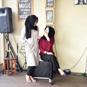True friendship isn't being inseparable. Its being separated & nothing changed #clozetteid #cotw  #HijabInFashion  #outfitoftheday  #stylehijab  #ootdindo  #photoodtheday  #indonesiacommunity  #diaryhijaber #indonesiafashion  #ootdhijab #hijaber #hijab