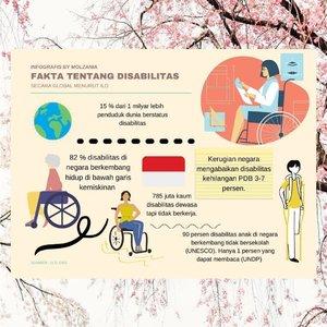 🌺DISABILITAS BERDIKARI LEWAT TEKNOLOGI🌺..🌸Dampak pandemi tidak hanya dirasakan oleh non disabilitas, tetapi juga memukul telak kaum disabilitas.🌸Tahu nggak sih selama pandemi Covid-19, pendapatan kaum disabilitas menurun drastis bahkan hingga 80 persen?🌸Sulitnya mencari pendapatan, mau tak mau harus berjuang mencari inovasi lain demi penghidupan.🌸Saat ini banyak disabilitas yang mulai memanfaatkan internet untuk menghasilkan dan berkarya. 🌸Seperti apa contohnya? Yuk, baca artikel terbaru di molzania.com..Linknya 👇🏻👇🏻https://www.molzania.com/disabilitas-berdikari-lewat-teknologi/Atau klik link di bio yahh.. ♥️♥️..@exabytes_id.#disabilityright#disabledblogger #disabledlife #disabilityawareness #disability #bloggerindonesia #bloggerperempuan #BlogUpdate #Bloggerlife #bloggerpalembangkumpul #lombablog #lombaexabytes#anothersideofmolzania #digitalinaja #stayathome #stayoptimistic💫 #staypositive💯#femaledaily#clozetteid