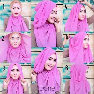 PRETTY IN PINK CASUAL HIJAB INSPIRATION