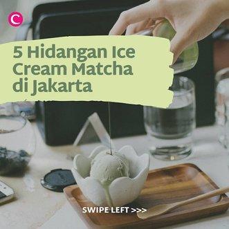 Menjadi favorite banyak orang sejak beberapa tahun belakangan, matcha tak hanya bisa dijadikan sebagai minuman. Kini banyak desserts yang disajikan dengan rasa matcha, salah satunya adalah ice cream. Yuk, swipe left untuk cari tahu di mana saja kamu bisa menemukan hidangan ice cream matcha di Jakarta. #ClozetteID #ClozetteIDCoolJapan