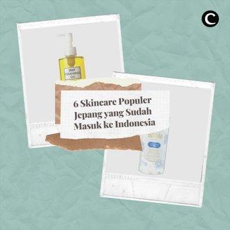 Enggak perlu ke Jepang, skincare-skincare populer asal negeri sakura sekarang sudah bisa kita beli langsung di Indonesia, lho. Apa aja? Berikut 6 diantaranya:.- Senka Perfect Whip @senkaindonesia Rp70.000 di Sociolla - Hada Labo Gokujyun Moisturizing Lotion @hadalaboidRp46.954 di Sociolla.- DHC Deep Cleansing Oil @dhcskincare_id Rp349.000 di Sociolla.- Biore UV Aqua Rich Watery Essence @id.biore Rp115.800 di Sociolla.- Bifesta Micellar Water @bifestaindonesia Rp100.000 di Lazada.- SK-II Facial Treatment Essence @skii_id Rp3.237.500 di Sociolla.#ClozetteID #ClozetteIDVideo #ClozetteIDCoolJapan #ClozetteXCoolJapan