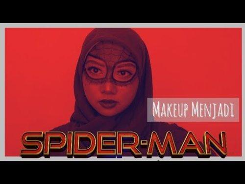Spiderman-Makeup Tutorial - YouTube