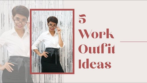 #LDYOOTD - 5 Work Outfit Ideas - YouTube