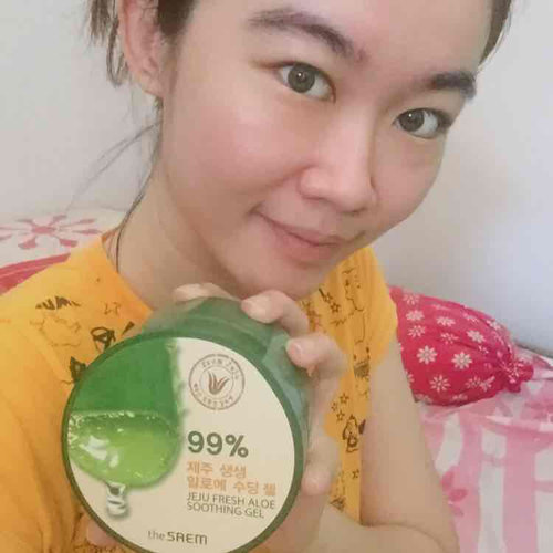 Tried this hype aloe vera gel at that time