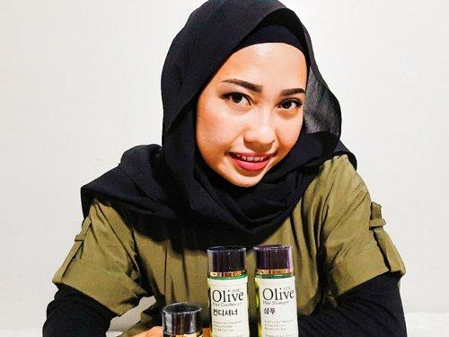 Suka bnget pake shampo olive