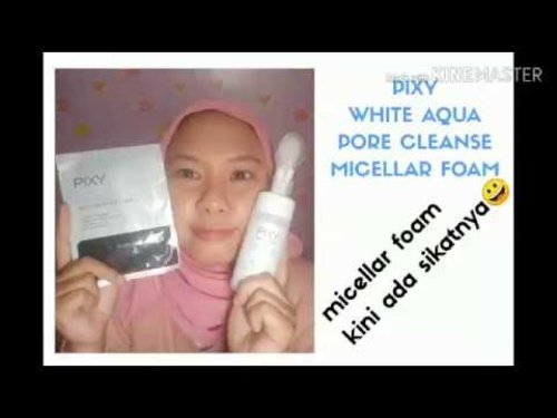 NYOBAIN PIXY WHITE AQUA PORE CLEANSE MICELLAR FOAM - YouTube
