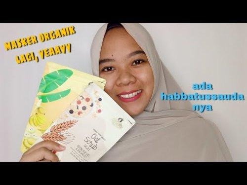 Masker organik ada habbatussaudanya || @adrshop_sk - YouTube#clozzeteid #reviewmasker #maskerorganik #review #skincare #beauty