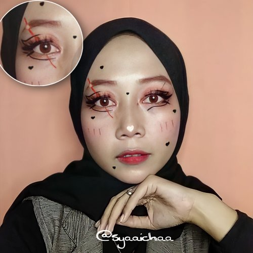 look makeup art eyeliner
