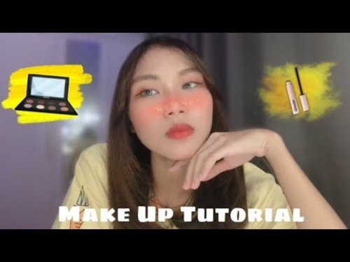 Make Up Tutorial Simple - cocok dibuat untuk sehar-hari loh. - YouTube