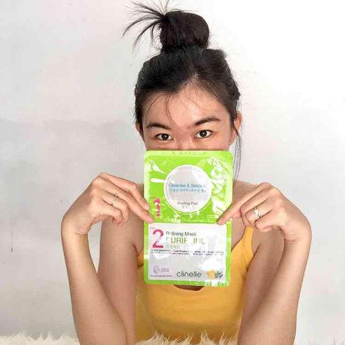 Peeling pad & refining mask purifying dari @clinelleid itu kombinasi yg tepat untuk membantu merawat, membersihkan, dan melembutkan kulit. Ini ada 2 bagian gitu, peeling pad nya itu berfungsi buat mengeksfoliasi kulit mati, ngebersihin sisa kosmetik & kotoran lainnya pada kulit muka. Dan refining mask purifying nya membantu merawat komedo dan kulit berjerawat. ✨  #happyskinhappyface #clinelleindonesia