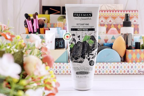 VIDA ZENITHA: REVIEW FREEMAN DETOXIFYING CHARCOAL + BLACK SUGAR MUD MASK (Bahasa Indonesia)