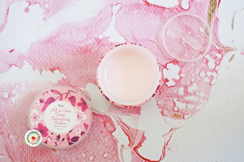 VIDA ZENITHA: REVIEW FANBO ALL IN ONE DEEP CLEANSING BALM WITH SAKURA EXTRACT (PINK)