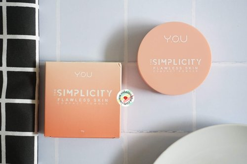 VIDA ZENITHA: REVIEW Y.O.U THE SIMPLICITY FLAWLESS SKIN COMPACT POWDER 01 IVORY