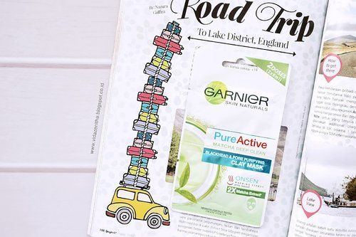 VIDA ZENITHA: REVIEW GARNIER PURE ACTIVE MATCHA DEEP CLEAN CLAY MASK