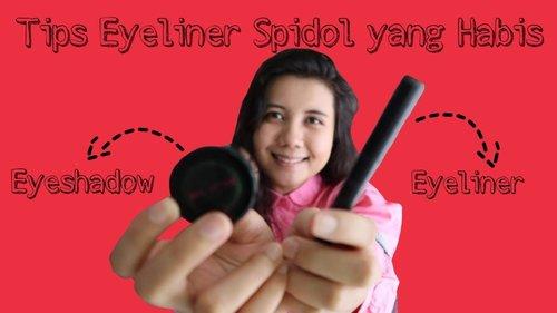 TIPS MENGGUNAKAN EYELINER - YouTube