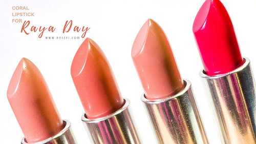 The Perfect 7 Coral Lipsticks For Raya Day