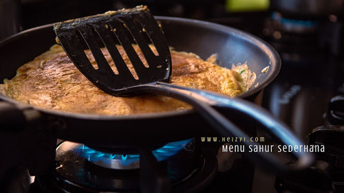 Korean Omelet, Menu Sahur Sederhana Tapi Enak