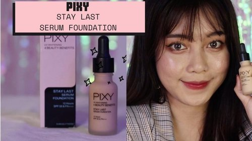 PIXY 𝘚𝘵𝘢𝘺 𝘓𝘢𝘴𝘵 𝘚𝘦𝘳𝘶𝘮 𝘍𝘰𝘶𝘯𝘥𝘢𝘵𝘪𝘰𝘯 #03 #NaturalBeige ——— Reviewnya ada di youtube aku. Link di bio ❤️ @pixycosmetics ———  #PIXY #PIXYINDONESIA #staylastserumfoundation  #beauty #beautyvideos #beautystagram #makeup #review #beautyvlogger #beautybloggers #beautybloggerindonesia #indonesia #lfl #like #clozette #clozetteid #clozetter #뷰티스타그램 #뷰티영상 #메이크업 #startwithSBN #socobeautynetworks #shopeeindonesia#ragamkecantikan#likeforlikes#cchannelid#cchannel