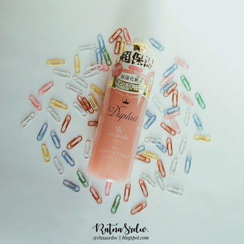 Racun lagi maap yak😂 first time nih nyobain Skincare Jepang , Disini aku nyobain si produk Duplair Double Moisturizing Lotion mereka ngeclaims si bisa untuk kulit kering kaya kulit wajah aku😭 Review soon ya tunggu aja👌Thxu somuch for @duplair.id & @beautynesia.id ________________#RacunIbukDhavin #Duplair#DuplairMoisturizingLotion#Beautynesia.id#ClozetteID