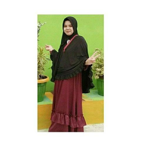 #ootd #hijabsimple #bergo #hijabtoday
