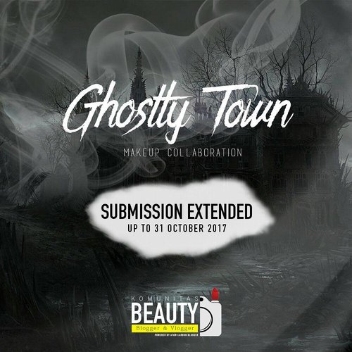 Dear All Night and Creepy Soul, have you joined the party? . Follow @atomcarbonblogger, submit your most scary, creepy and haunted makeup look with #kbbvghosttown and enjoy the party!! . Dont forget, there's a WERY GENEROUS PRESENT for you who have the BEST LOOK (by best, i mean creepiest, scariest and gore). So what are you waiting for?? . Ps : Indonesian resident only 😘😘😘😘 . #makeupchallenge #contest #giveaway #kuter #kuisberhadiah #kuishunter #kontes #kbbvmember #halloweencostume #halloweenmakeup #gaadalogakrame #ibv #ivgbeauty #fdbeauty #clozetteid
