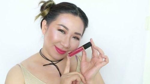 Akhirnya bisa bikin video lagi!! Hayuk melipir liat ripyu kumplit 5 shade baru dari @purbasari_indonesia Hi Matte Lip Cream. Dijamin pingin beli deh 😊😊. . Clickable link ada di bio yaa. . @indovidgram #ibv #indobeautygram @indovidgram #ivg #ivgbeauty #beautychannel #beautybloggerindonesia #fdbeauty #clozetteid #youtubechannel #youtubeindonesia #makeupgeek #lipstikmatte #lipstik #lipstickaddict #lipstikpurbasari #purbasari #produklokal