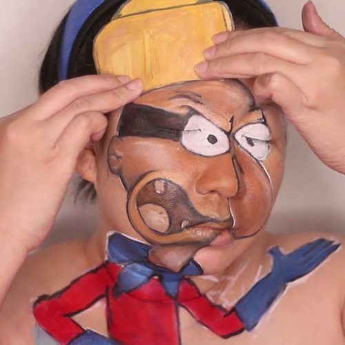 "Me transform to Barnacle Boi 😘😆.Videonya sangad panjang sodara2, gw ga tau knp bs gt. Yg jelas ga cukup dikompres jd 60"" mkny gw cepetin plus tumpuk2 😄Ya pokoke biar seru aja yaa share video ini. Yg mr krabs sm sandy cheeks on process yow...#spongebob #barnacleboy #facepainttutorial #facepainting #nickelodeon #jasafacepainting #muajakarta #fdbeauty #clozetteid #ibv #ibv_sfx @indobeautygram #ivgbeauty #ivg @indovidgram #tampilcantik @tampilcantik #bunnyneedsmakeup @bunnyneedsmakeup #bvloggerid @bvlogger.id #kbbvmember @kbbvbyacb #feature_my_stuff @feature_my_stuff @dupemag #dupemag @artshare4smallaccounts @artshare4smallaccounts #crazymakeups @crazy.makeups"