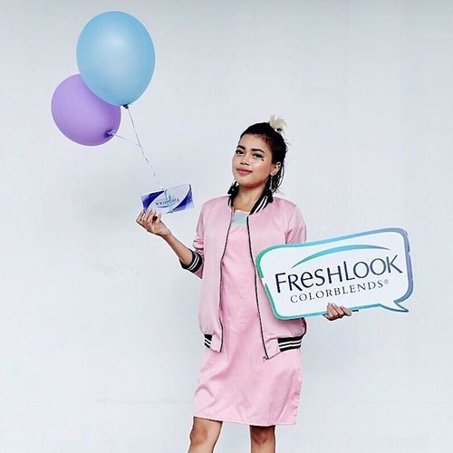 So much fun attended freshlook gathering jakarta last saturday with @clozetteid and #freshlookid 💕💙💜💕 • 📸 by @japobs thanks mei 😘 #clozetteid #clozetteambassador #freshselfielookjkt #pastel