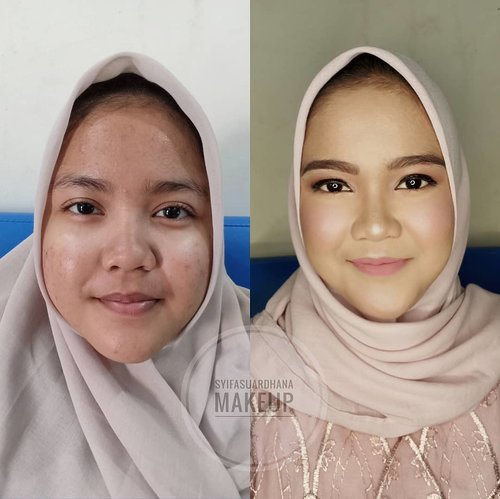 Before - After 🌸info makeup : 082260592599#bridesmaids #makeupartist #makeuppesta #makeup #engagementring #wisuda #wedding #amongtamu #makeuptutorial #makeupwisuda #makeupoftheday #engagementmakeup #mua #muajakarta #prewedding #clozetteid #wakeupandmakeup #hudabeauty #bloggerindonesia #beautyblogger #beforeafter #before #after #jakarta #depok #jabodetabek