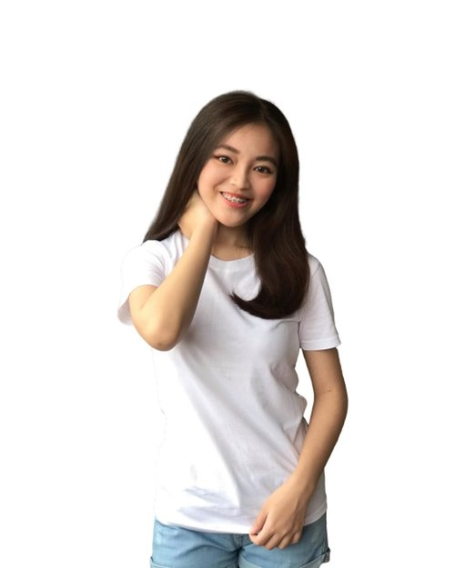 White Premium T-Shirt from @bro.bossque . Super Good Quality with adorable price. Grab it fast guys! . Thank you so much @bro.bossque ✨❤️ . #clozetteid