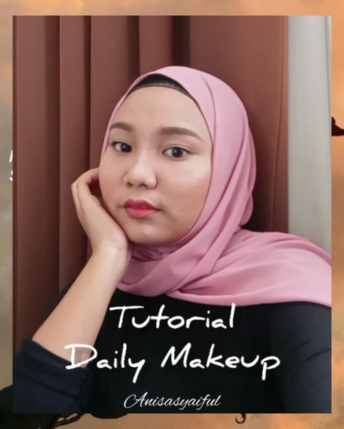 ⭐ My Daily Makeup Tutorial ⭐.Makeup Deets:- @skin1004indonesia Madagascar Centella-Asiatica 100 Ampoule- @wardahbeauty Instaperfect Mineralight Matte BB Cushion- @thesaemid Cover Perfection Tip Concealer- @etudehouseofficial Drawing Eyebrow- Etude House Color My Brows- @mineralbotanica Loose Foundation- @sascara Fiber Mascara- @missha.id Cotton Blush- @focallurebeautyid Duo Highlighter and Bronzer- @getthelookid Loreal Infallible Lip Paints 👄....#dailymakeup #dailymakeuplook #naturalmakeup #naturalmakeuptutorial #makeuppemula #tutorialmakeupnatural #tutorialmakeupsimple #everydaymakeup #wardahbeauty #wardahinstaperfect #etudehouse #thesaem #misshaindonesia #mineralbotanica #lorealinfallible #lorealindonesia #focallureindonesia #beautybloggermakassar#beautyvloggermakassar #tutorialmakeup #tampilcantik#cantiknaturalaja #belajarmakeup #inspirasicantikmu#hijabersbeautybvlogger #makassarbeautygram #makassarbeauty #tutorialmakeupnatural #tutorialanisasyaiful #clozetteid